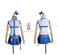 Fairy Tail Lucy Heartfilia Uniform Cos Clothing Cosplay Costume