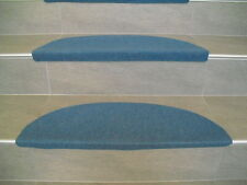 andiamo Stufenmatte Paris Blau / 65 x 28 cm / 290332 / selbstklebend / Treppe