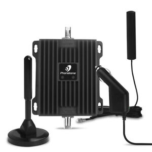 3G 4G 850/1700MHz Mobile Cell Phone Signal Booster Repeater RV/Truck Band 5/4