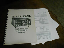 Atlas 350-XL  Manual with Schematic