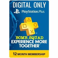 PS Plus 12 Months Multiplayer PS4 *NO CODE READ DESCRIPTION* Playstation 4