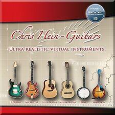 NEW Best Service Chris Heins Guitar Virtual Guitarist Sample Kontakt Library