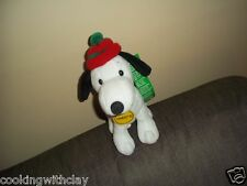 PLUSH DOLL FIGURE CELEBRATING 60 YEARS COMIC STRIP SNOOPY PEANUTS CHARLES SHULZ