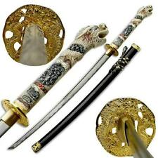 "Highlander Connor MacLeod Hand Forged 41"" Dragon Katana Sword with Scabbard"