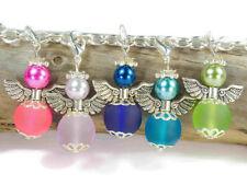 10 Engel matt bunt Schutzengel Charms Schutzengel Set Bastelset für Kinder