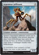 MTG Magic DOM - (x4) Skittering Surveyor/Arpenteur jaillissant, French/VF