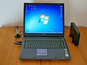 Notebook Laptop Sony VAIO PCG-GRX 616SP Vintage High End f. Sammler Top Zustand