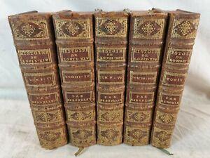 Livres HISTOIRE DU REGNE DE LOUIS XIV 1746 XVIIIe M.REBOULET Avignon Girard J4