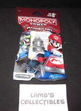 Monopoly gamer Mariokart card game power pack Hasbro Nintendo Metal Mario fig