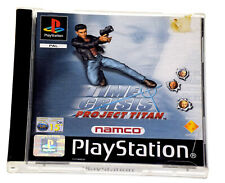 TIME CRISIS PROJECT TITAN Sony PlayStation 1 PS1 Rare BLACK LABEL Near Mint Game