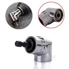 "New 105°Angle 1/4"" 6mm Extension Hex Drill Bit Screwdriver Socket Holder Adaptor"