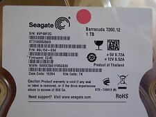 1 To Seagate st31000528as | PN: 9sl154-034 | FW: cc45 | TK
