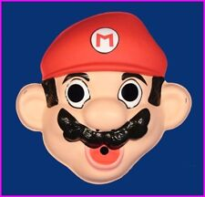 * Super Mario Bros Brothers Halloween Costume Mask 52232 Ben Cooper 1988 NEW *
