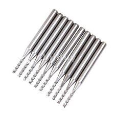 Lot 10 Pcs Carbide Drill Bits / End Mill Endmill 1.5mm