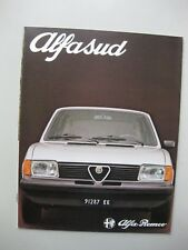 Alfa Romeo Alfasud prestige brochure Prospekt Dutch text 24 pages 1980