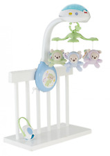 Baby Cot Mobile - Fisher Price Musical Projection Lullaby Music Sounds Lights