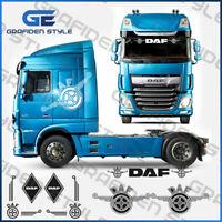 1 Set ( 7 Stück ) DAF - LKW Fahrerhaus Aufkleber - Sticker - Decal !