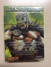 Magic the Gathering - Garruk Lingua Selvaggia - Mazzo da 30 carte - NUOVO