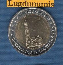 2 euro Commémo Allemagne 2008 Eglise Saint Michel G Karlsruhe Germany