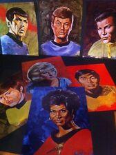 STAR TREK LOT 7 PROBERT Art Prints1970s Lincoln Enterprises 50th Anniversary TOS