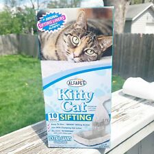 Alfapet Kitty Cat Sifting Liners Extra Giant Pack of 10 Easy To Use New