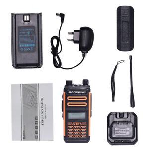 BAOFENG BF-S5 Plus IP67 Dual Band Two Way Radio Palmare Walkie Talkie Waterproof