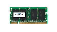 Crucial 1gb (1 X 1gb) 800 MHz Cl6 1.8v Ddr2 Laptop Memory (ct12864ac800)