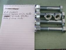 range rover classic early front hockey stick bolts and nuts with rear end nuts