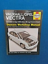 HAYNES VAUXHALL OPEL VECTRA WORKSHOP MANUAL 2002 - 2005 EXCELLENT CONDITION