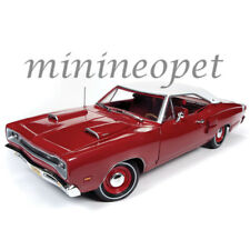 AUTOWORLD AMM1191 1969 DODGE CORONET SUPER BEE 1/18 DIECAST MODEL CAR RED