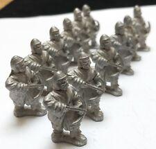 Essex Lot21  Mongol Medieval Metal Army Foot Soldiers Crossbow Men War Miniature