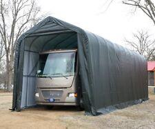 Lorry Shelter Coach Steel Framed Storage Building Shed Portable Workshop Shelter