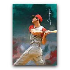 Rocky Colavito #20 Sketch Card Limited 8/50 Edward Vela Signed