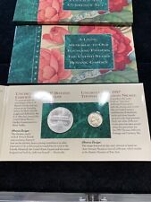 1997 Us Botanic Garden Coinage and Currency set