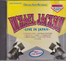 Michael Jackson-Live In Japan cd album