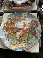 Avon Christmas Plate 1993 Special Christmas Delivery 1234152