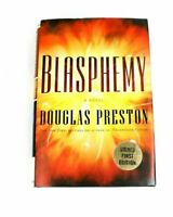 Blasphemy by Douglas Preston (2008, Hardcover First Edition) Signed Autographed