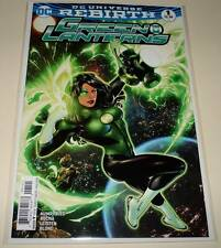 GREEN LANTERNS # 1 DC Comic Aug 2016 NM DC Universe Rebirth VARIANT COVER
