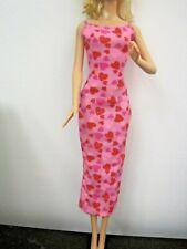 Barbie Doll Clothes/Shoes *Mattel Dress/Gown W. Sparkles *New*