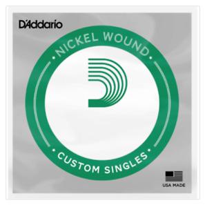 D'Addario Singles - Nickel Wound Strings (Pack of 5) Gauge: 0.60