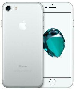 APPLE IPHONE 7 32 GB Silver Argento Grado A+ Usato Ricondizionato Rigenerato