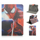 Heros Universal Leather Folio Flip Cover Case For Samsung Galaxy Series Tablets