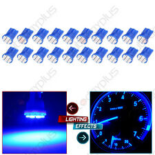 20Pcs Blue T10 194 8SMD Instrument Speedometer Dash LED Light Bulbs For Toyota