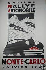 FALCUCCI MONTE CARLO 1932 Rallye automobile course