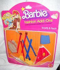 #5273 NOC Vintage Barbie Fashion Add Ons Scarfs & Such