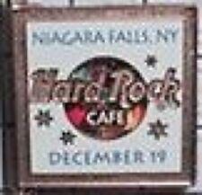 Hard Rock Cafe NIAGARA FALLS NY 2001 December 19th Countdown to 2002 PIN #15606