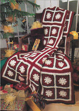 Crochet Pattern ~ CHRISTMAS SNOW AFGHAN ~ Instructions