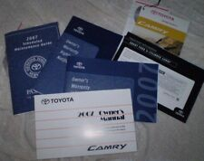 2007 TOYOTA CAMRY OWNERS MANUAL AND OTHER BOOKLETS - JUST REDUCED PRICE WW SHIP