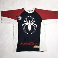 Marvel x Johnny Blaze Spiderman T-Shirt   Medium   Limited Edition 90s   Rare
