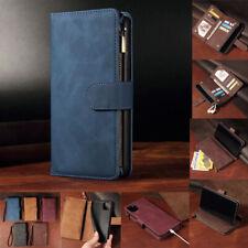 Luxury Zip Wallet Flip Multi Card Phone Case PU Leather Case for Alcatel 3V 2019